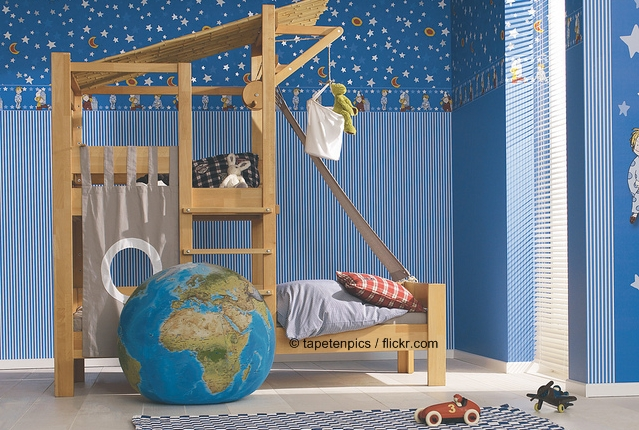 kinderzimmer gestalten ideen und beispiele f r. Black Bedroom Furniture Sets. Home Design Ideas